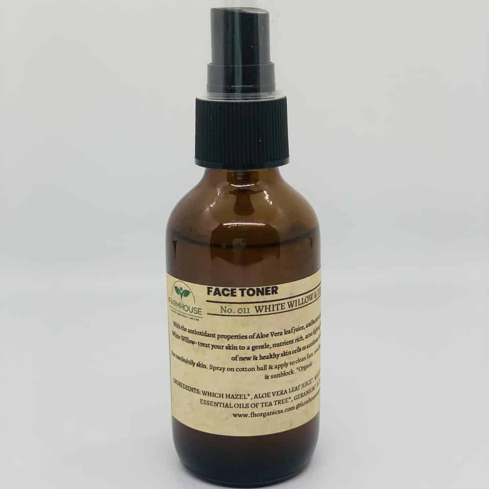 Face Toner – White Willow & Tea Tree