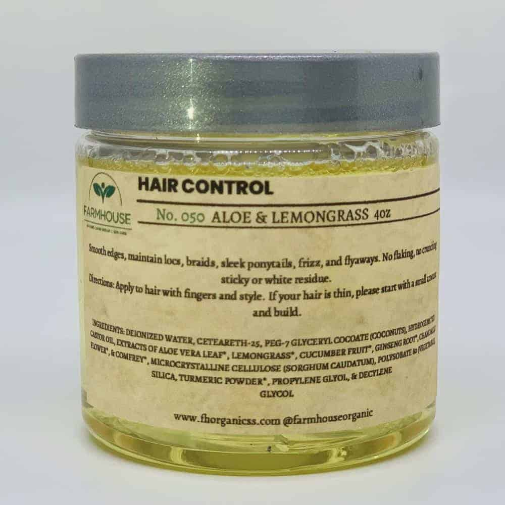 Hair Control – Aloe & Lemongrass