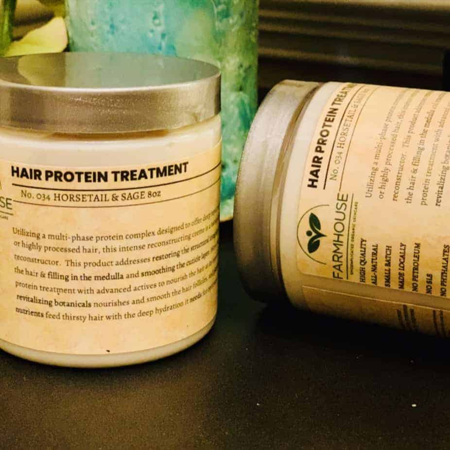 Hair Protein Treatment – Horsetail & Sage