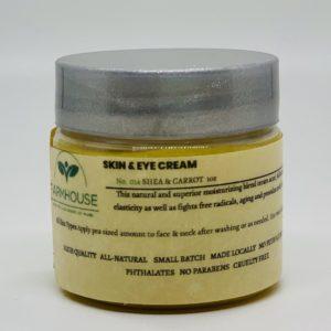 Skin & Eye Cream – Shea & Carrot