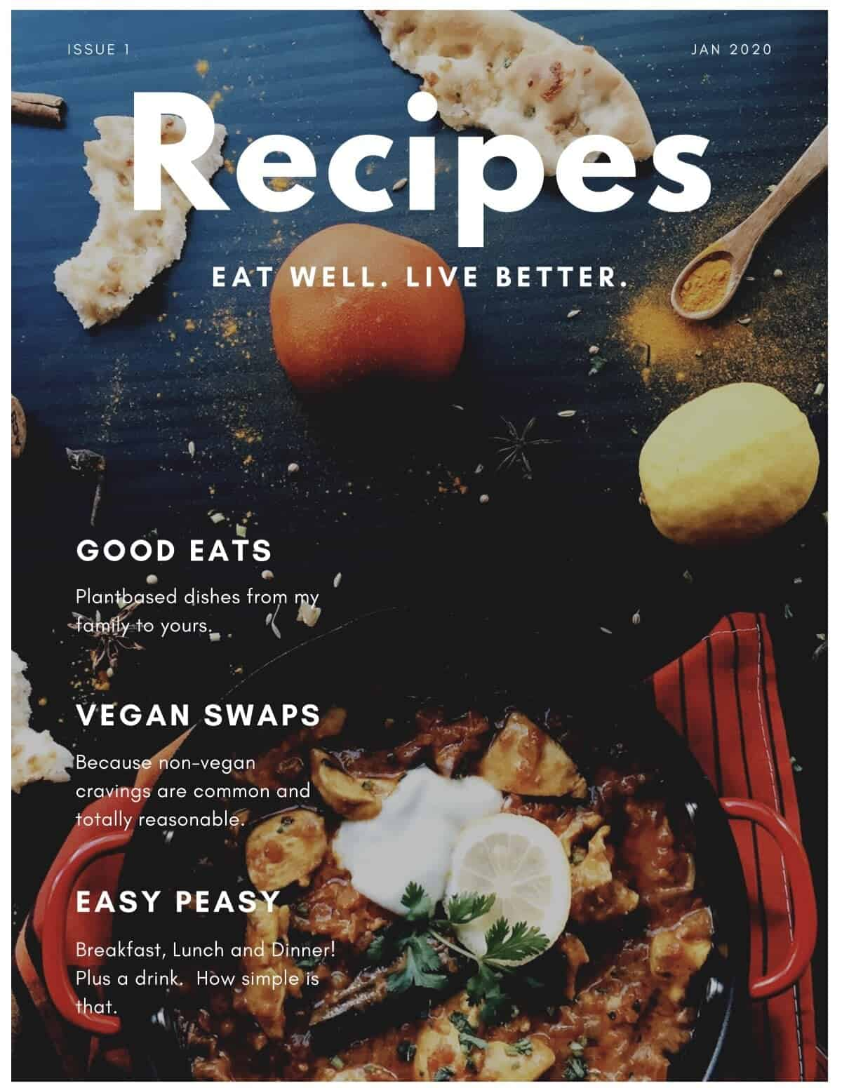 Rene's Recipes Issue 1 Jan 2020