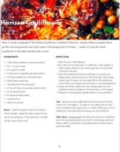 Harissa Cauliflower